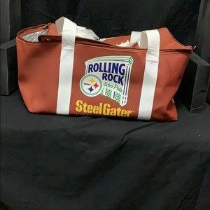 Rolling Rock- Steelers cooler bag